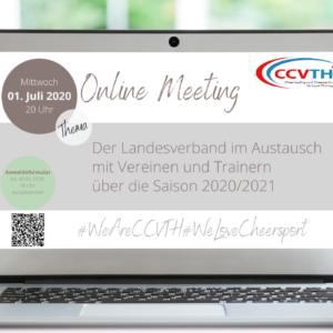 2. Landesweites Online Meeting – 01.07.2020